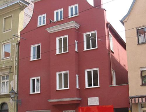 Das Mozarthaus in Augsburg