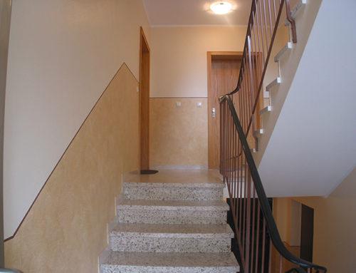 Treppenhausrenovierung in Friedberg