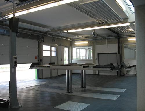 Malerarbeiten in Kfz- Schulungsräumen (Neubau)