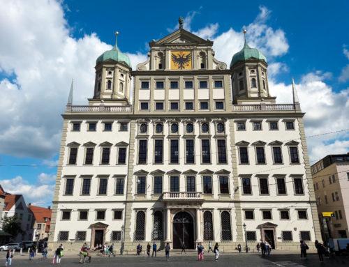 Fassadenrenovierung Augsburger Rathaus