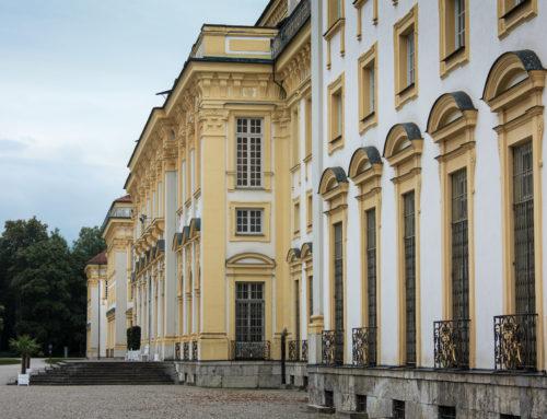 Malerarbeiten am Schloss Schleißheim