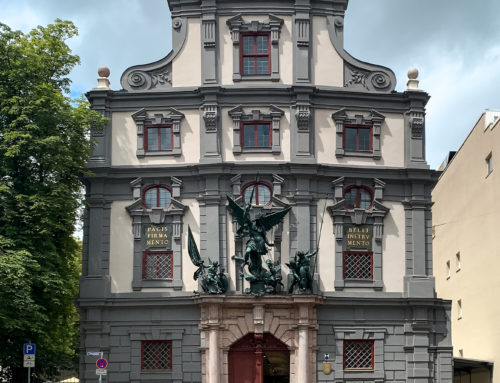Fassadenrenovierung am Zeughaus