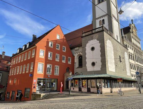 Fassadenrenovierung eines historischen Gebäudes am Perlachberg